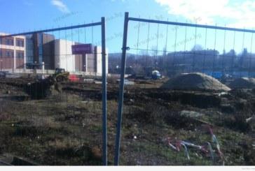 АУБ започна строеж на най-голямото открито спортно съоръжение в Благоевград