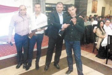 Авджии от Марикостиново и Коларово спечелиха двете пушки от томболата на Сдружението на ловците в Петрич