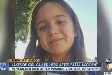 10-годишно момиче загина премазано от кола,а после спаси 2 деца