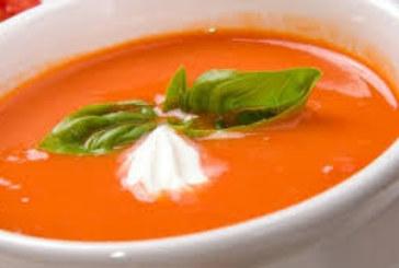 Доматена крем-супа с фиде