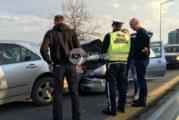 Верижна катастрофа в София! 4 коли се забиха една в друга на пътя за летището (СНИМКИ)