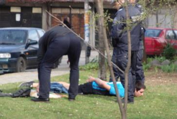 ЗРЕЛИЩНА ПОЛИЦЕЙСКА АКЦИЯ! Арестуваха в Благоевград извършителя на въоръжен грабеж в столичен магазин за мобилни телефони
