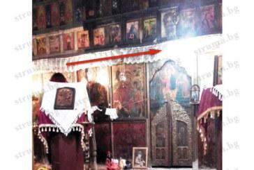МИСТЕРИЯ! Божият лик се появи в църквата на Преподобна Стойна в деня, когато обявиха на публична продан цеха за бутилиране на вода в Катунци с нейното име