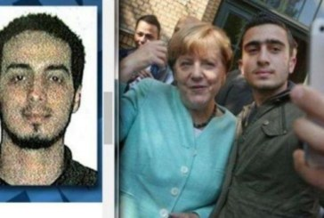 ХИТ В МРЕЖАТА! Меркел си направила селфи с терорист от Брюксел