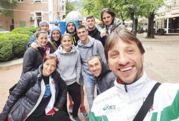 Националите по карате се разходиха в Кюстендил