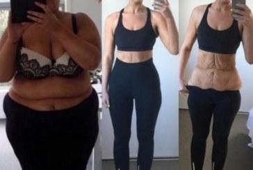 Неузнаваема: 25-годишна отслабна със 100 кила пред очите на фенове от Instagram