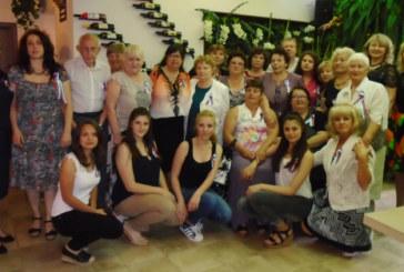 """Дупнишките рускини разрязаха разкошна торта за 10-ия рожден ден на клуб """"Всички заедно"""""""