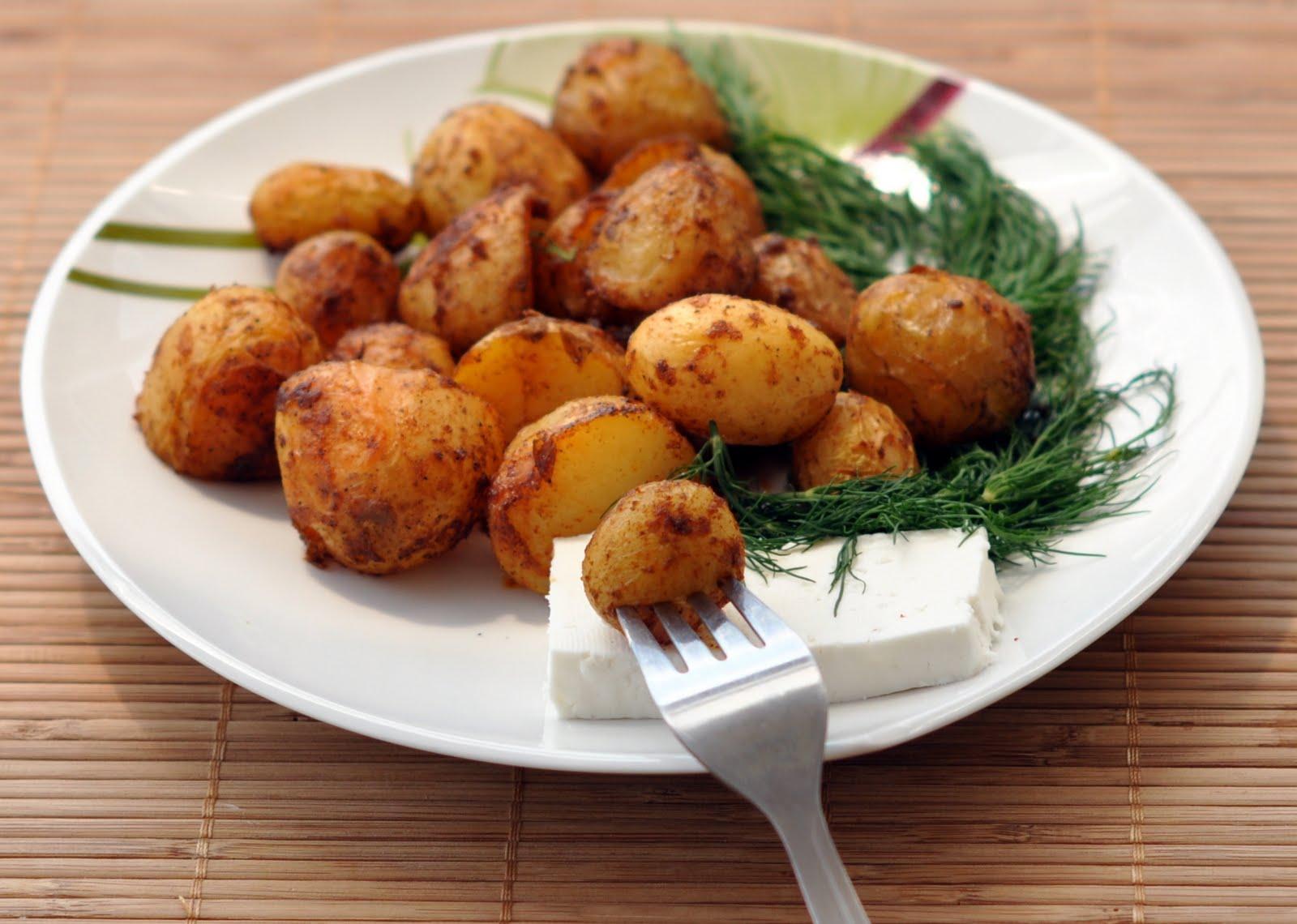 Лесни картофи на фурна