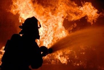 Пожар в дърводелски цех в Левуново