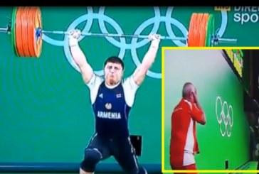 Кошмар от последните минути в Рио! Милиони зрители плачат пред екраните: Щангист си счупи зверски ръката
