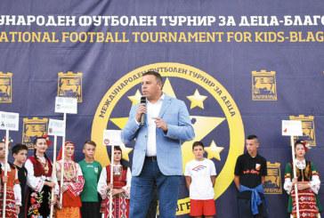 Кметът Ат. Камбитов: Обичайте футбола и успехите няма да закъснеят