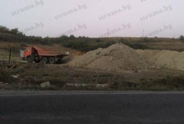 Петричка фирма строи бензиностанция край Дупница на кумеца на Валентин Златев