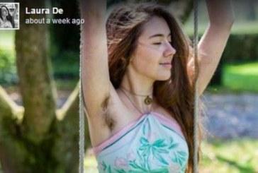 Тази СНИМКА на момиче с космата подмишница мигом превзе мрежата