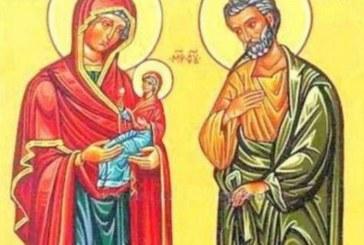 Днес честваме Светите праведните богоотци, черпят…