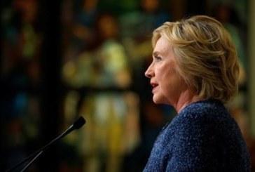 Американският телевизионен канал ABC7:  Започваме с извънредна новина за смъртта на Хилари Клинтън