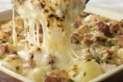Огретен от картофи с кашкавал