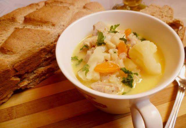 Богата есенна супа