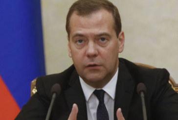 Ексклузивно! Евакуираха Дмитрий Медведев заради взривове