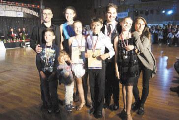 """Млади танцьори от ТК """"Фантастик  Данс"""" – Дупница с призови места на  международен  фестивал"""