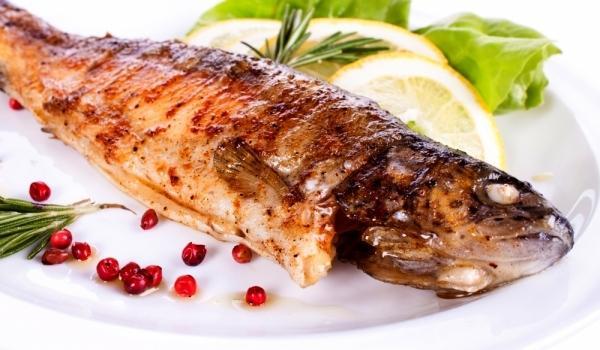 Риба в морска сол