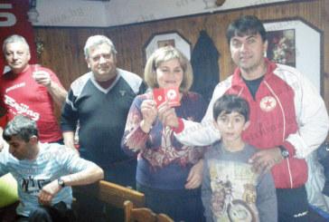 На купон в навечерието на Новата година кметицата на разложкото село Баня М. Юрганчева стана член на местния фенклуб на ЦСКА