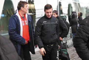 """Либерото на шампиона """"Марек"""" оцеля в чистката за олимпийската квалификация, на летището го изпратиха сурвакари"""