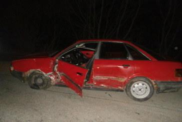Пиян едва не уби две деца в тежка катастрофа в Разложко! Мерцедес падна в реката след удар с ауди