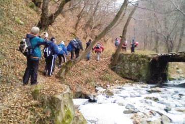 С преход през първите снегове в Осоговската планина туристи отбелязаха Новата година
