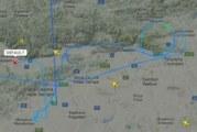 """""""Неизвестен"""" самолет разтревожи сайтове! Оказа се авиационно учение"""