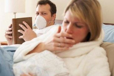 Вирус поваля цели семейства с 39° и кашлица