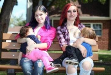 Ново 20! Майки разменят децата си, за да ги кърмят на смени