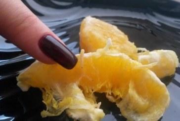 Това е България! Портокали с бели червеи по магазините /СНИМКИ/