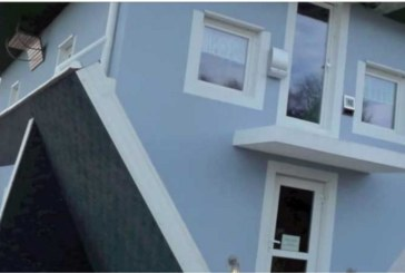 Ето я най-странната къща! Само в нея хората вървят по тавана и правят необикновени неща! Вижте видео, което ще ви развесели