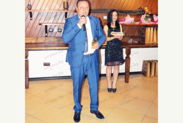 На бал на кметовете в Банско Георги Икономов отличен с награда за европейско управление