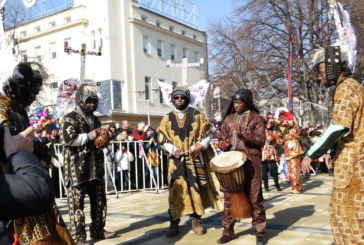 Екзотика и феерия показват чуждестранните групи в Перник
