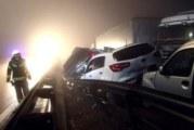 ЗВЕРСКА ВЕРИЖНА КАТАСТРОФА! 70 коли се нанизаха една в друга, 4-ма загинаха (ВИДЕО)