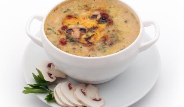Супа от пресни гъби