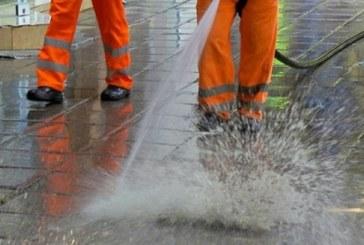 Започва извънредно миене на улиците в Благоевград