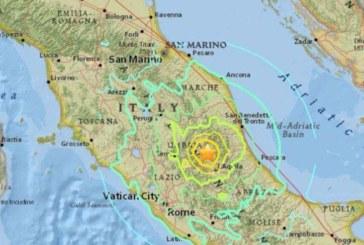 Италия не спира да се тресе цял ден! Над 60 земетресения регистрирани от сутринта