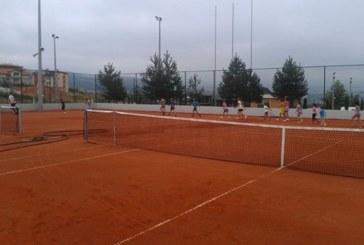 Нов тенис комплекс правят край алеята за Бачиново в Благоевград