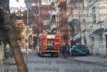 Пожар в центъра на Сандански! Патрулки отцепиха района