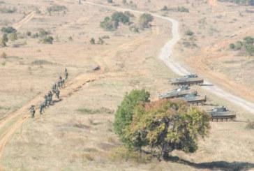 САЩ разполагат войски и бронирана техника в България