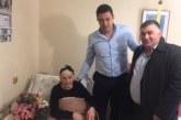 Кметът Димитър Бръчков поздрави столетници в община Петрич