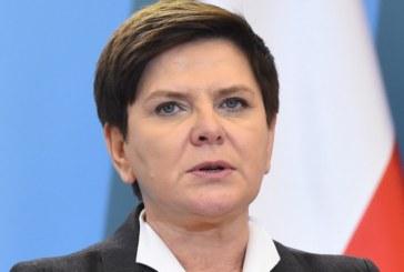 Полският премиер пострада при катастрофа