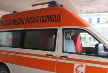 Катастрофа на Е-79! Две коли в сблъсък, петричанин ранен