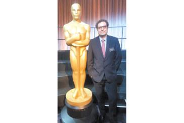 """Кюстендилецът Теодор Ушев в приятелски разговор със Стивън Спилбърг на официалния обяд на номинираните за """"Оскар"""""""