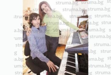 Звездата от ФСБ К. Цеков подари аранжимент за първата авторска песен на незрящ благоевградски музикант