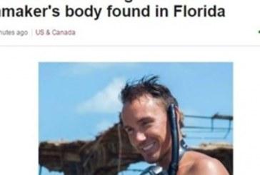 Известен режисьор се гмурна край бреговете на Флорида, а пет дни по-късно откриха безжизненото му тяло