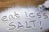 Има нещо по-вредно от прекалената употреба на сол!