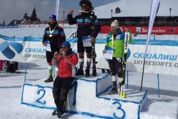 Най-добрият петрички алпиец Г. Нушев с бронз в слалома на откритото първенство на Сърбия